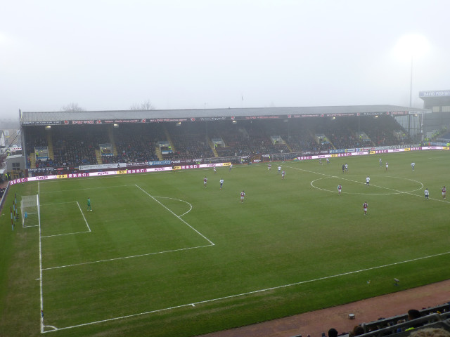 The Bob Lord Stand During the Match