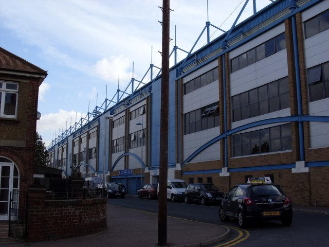 Rear of the Medway Stand