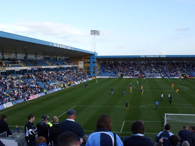 Medway Stand and the Rainham End