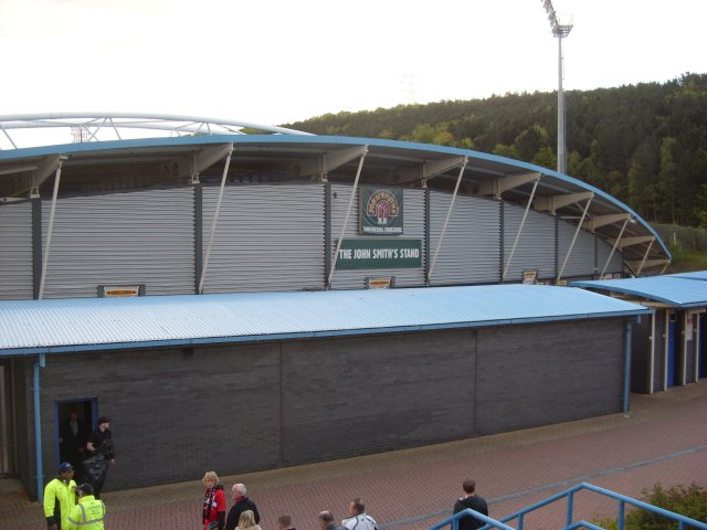 Rear of the South Stand