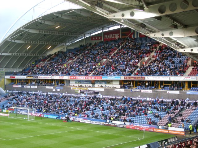 The North Stand During the Match