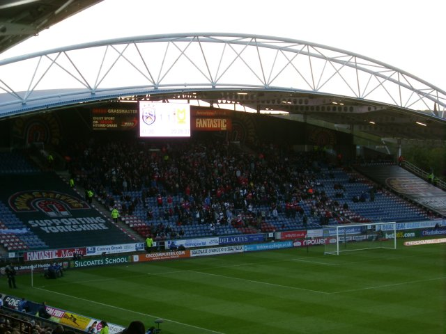 The South Stand During the Match
