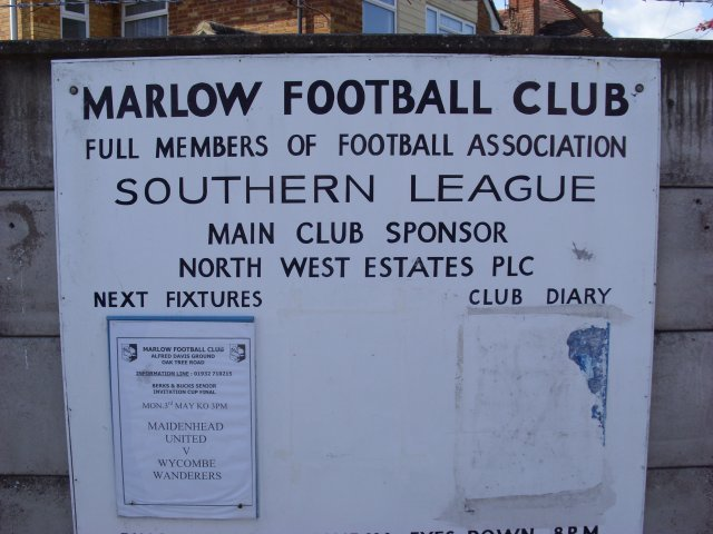 Welcome to Marlow FC