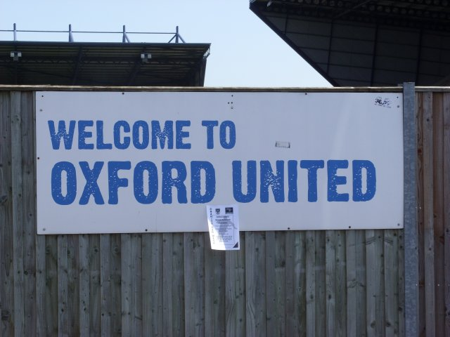 Welcome to Oxford United