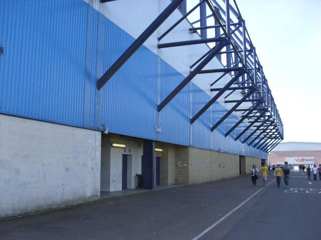 Rear of the North Stand