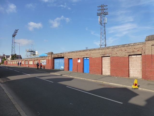 Rear of the Terregles Street Stand