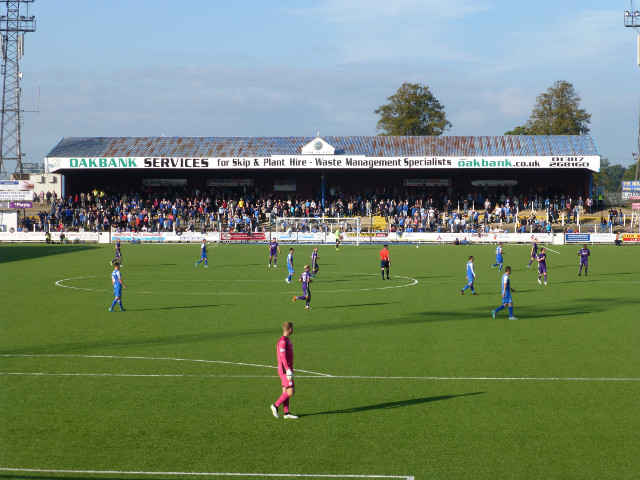 The Portland Drive Terrace During the Match