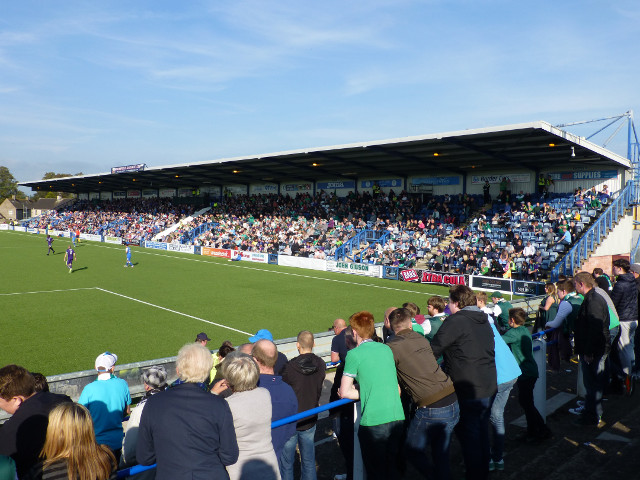 The East Stand During the Match